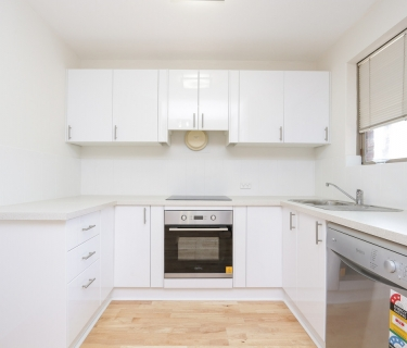 FRESHLY RENOVATED - Fresh kitchen, bathroom, brand new blinds and painting!