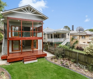 RENOVATED QUEENSLANDER ON JAMES STREET, NEW FARM