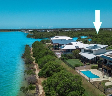 RARE SUSTAINABLE WATERFRONT LIVING.  REDUCED PRICE - READY TO MOVE IN