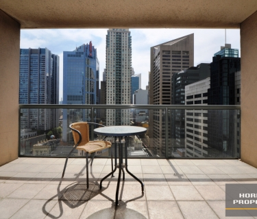Furnished North Facing Studio in Ever Popular Hordern Towers