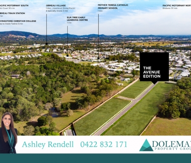 LOOKING FOR LAND TO BUILD YOUR DREAM HOME IN ORMEAU? WELL LOOK NO FURTHER ........
