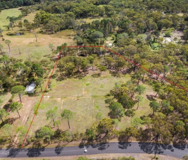 Rare, elevated 4.6 acre vacant land at Somersby, with some ocean views