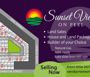 MAY I WELCOME YOU TO SUNSET VIEWS ON PEEL