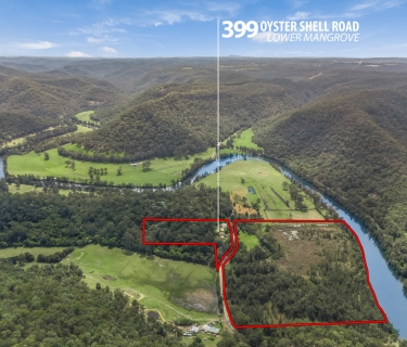 Acreage with Water Frontage